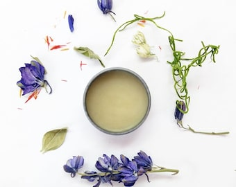 """Natural Solid Perfume """"Welcome to Siberia"""" Refreshing Pine and Fir, Forest, Botanical Perfume, Tin, cruelty free, vegan"""
