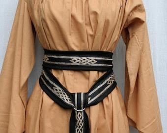 Custom Butterfly Sleeve Underdress in Cotton, Kirtle, Under Dress