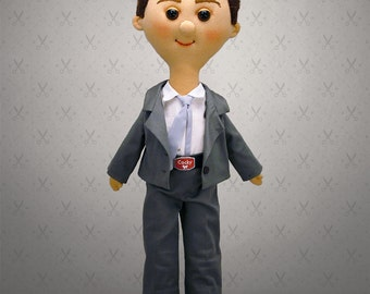 Giant Selfie doll - 60 cm tall doll, rag doll, art doll, custom doll, character doll