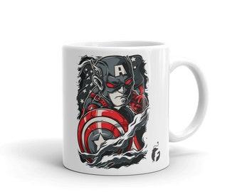 Captain America Rip Mug