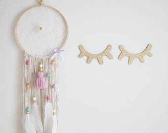 BOHO // Pastel Bling Dreamcatcher