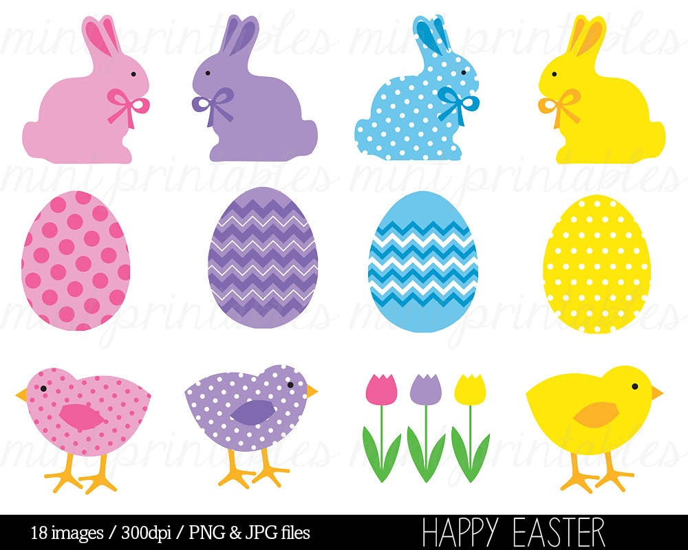 Easter Clipart Clip Art Easter Bunny Clipart Happy Easter