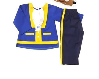 The Beast Costume - Beauty and the Beast costume - Belle Prince - The Beast Costume - Prince Costume - toddler costume - Costumes for boys