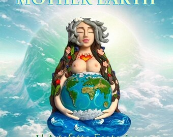 statue of Mother Earth Goddess of fuor elements