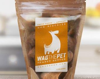 Peanut Butter Maple Dog Treats