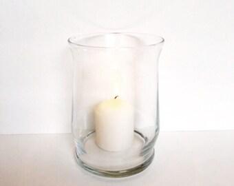 Glass Votive Candle Holder, Candle Holder, Flower Vase, Wedding Centerpiece, Home Decor Candle Holder.