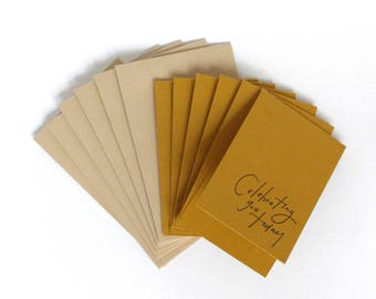 Little Card Set of 6, Celebrating You Today, 2x3.5 with Envelope