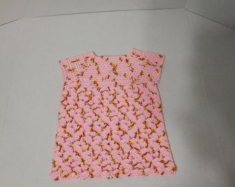 Crochet Girl Dress (New)
