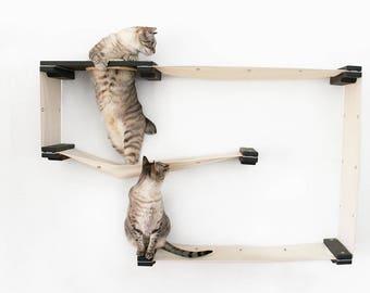 The Cat Mod - Maze - Cat Hammock Shelves - Free US Shipping*