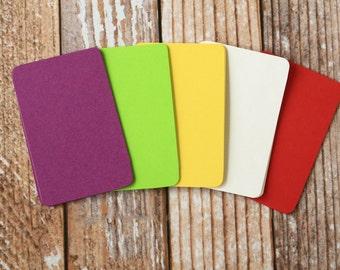 200pc SUMMER GARDEN Colours Lakeland Series Business Card Blanks