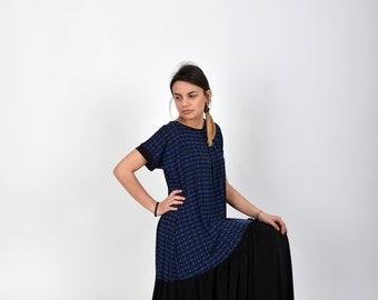 Kaftan Dress, Summer Maxi Dress, Caftan Dress, Blue Maxi Dress, Loose Dress, Maternity Dress, Long Dress, Blue Women Dress, Casual Clothing