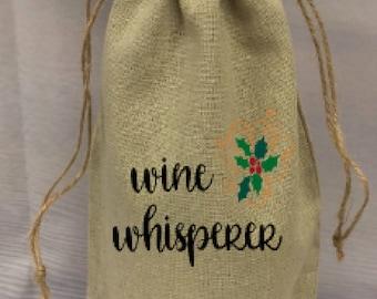 Wine Whisperer Wine Bag