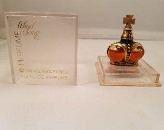 Vintage Prince Matchabelli Wind Song Perfume 0.25 oz