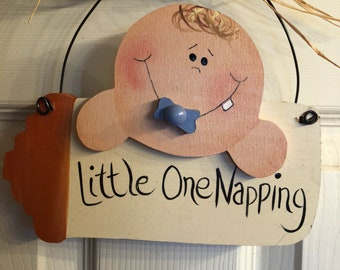 Little One Napping Nursery Decor