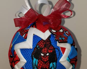 Super Hero Quilted Ornaments