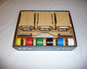 Splendor Box Organizer (for Sleeved Cards)