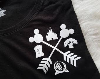4 parks in 1 magical world shirt