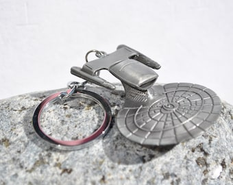 Star Trek Enterprise inspired KeyChain Key Ring