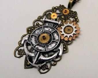 Steampunk hunker pendant.