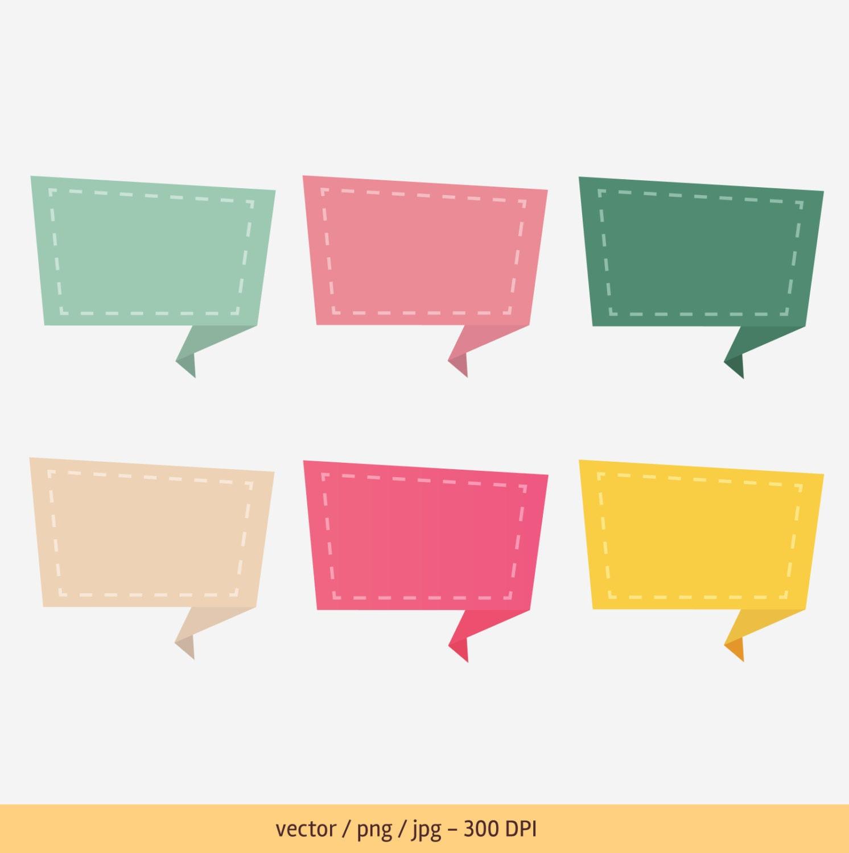 Frame Clip Art Etiketten Tags Farbe Rahmen kommerzielle