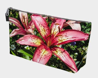 Tiger Lilies Make Up Bag Style 2