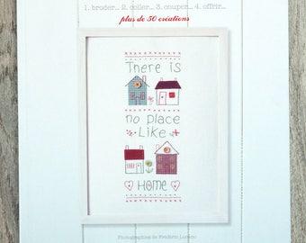 NEW - Book Petits bonheurs embroidery - Ed. Marabou