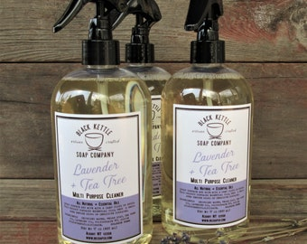 Natural All Purpose Cleaner with Essential Oils