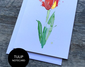 Tulip Notecard Set of 3 or 6