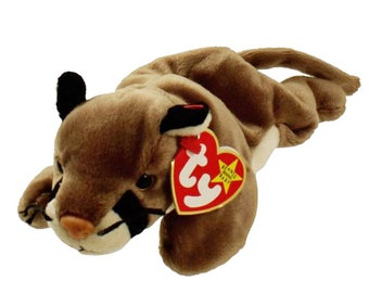 Vintage Beanie Baby: CANYON the Cougarr 1998 - MINT Condition.