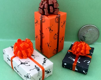 Halloween Miniature Gift Packages