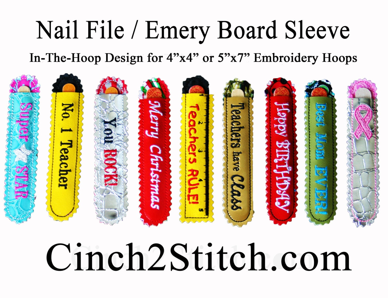 Modern Nail Emery Board Collection - Nail Art Ideas - morihati.com