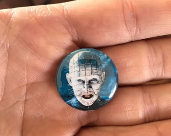 Pinhead Hellraiser Halloween one inch button