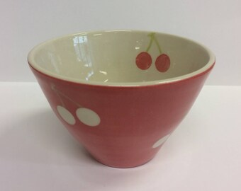 Cherry bowl red