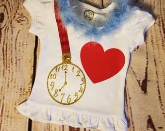 Alice in Wonderland Rabbit Shirt, Alice White Rabbit Costume, Alice in Wonderland Shirt, White Rabbit Shirt, Alice in Wonderland Costume