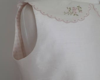 Ivory flower girl dress size 5