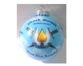 CJSOAC Emblem Ornament -Hand Painted & Signed by The Artist