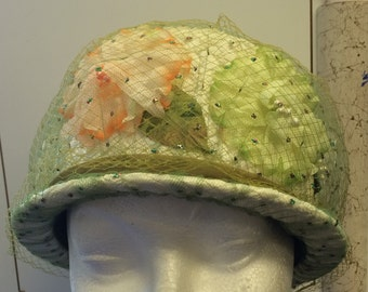 Vintage Green Like New Green Mr. Richard Easter Hat