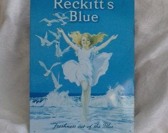 Reckitt's Blue metal advertising plaque