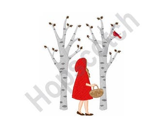 Red Riding Hood - Machine Embroidery Design