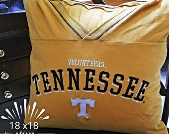 Tshirt Pillow, Throw Pillow, Pillow Gifts , Custom Order with your Tshirt or Sweatshirt logo.