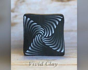 Polymer Clay Cane, Paradox 2
