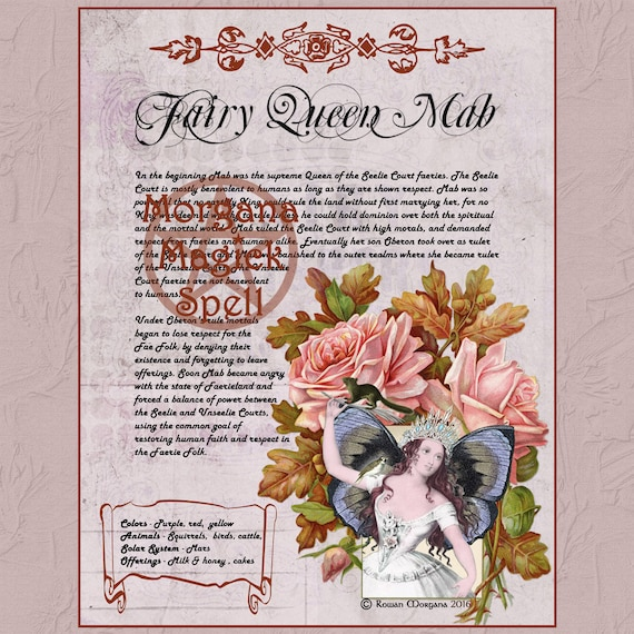 Mab the Faerie Queen