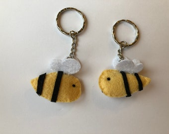 Bumble bee key ring - 0009
