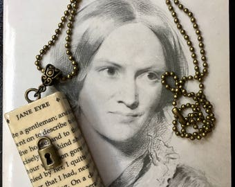 Key to my Heart - Jane Eyre necklace