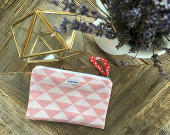 22x15cm_Makeup bag_pink_ graphic