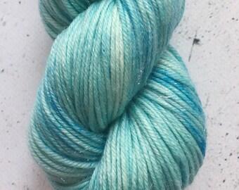 Sparkle Sock Yarn, Teal Beta