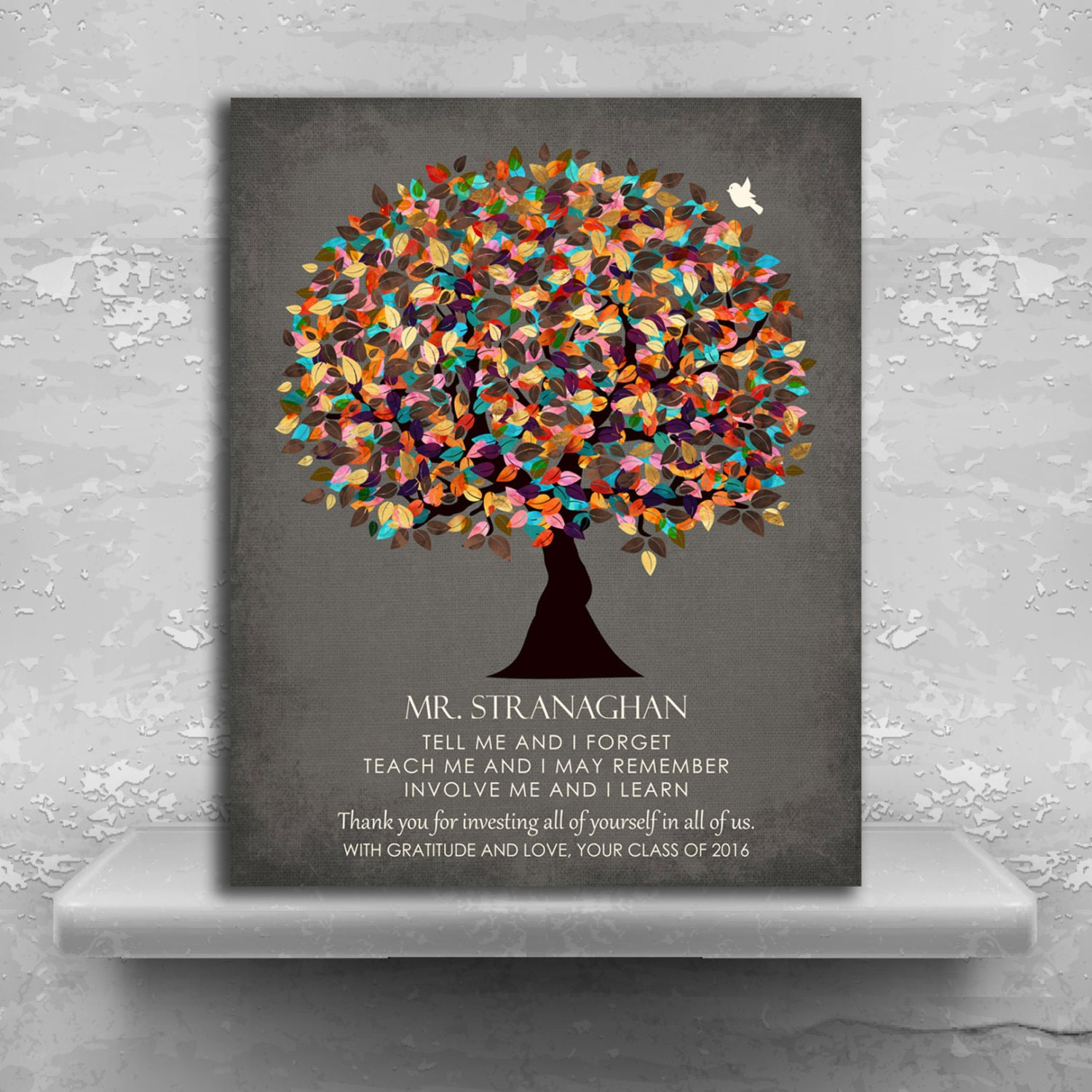 Gift from graduation class thank you teacher gifts gift for zoom solutioingenieria Image collections