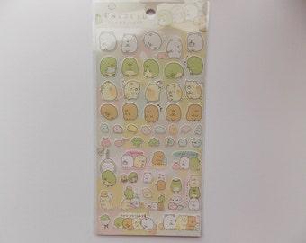 Kawaii Animal Stickers sheet