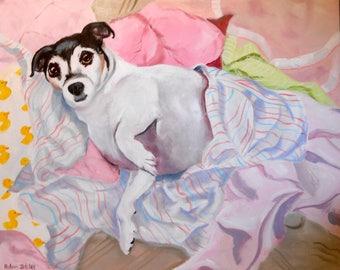 Jack Russell Terrier Portrait Artist
