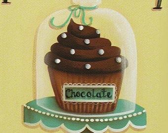 Cupcake Print Moist 'n Chewy